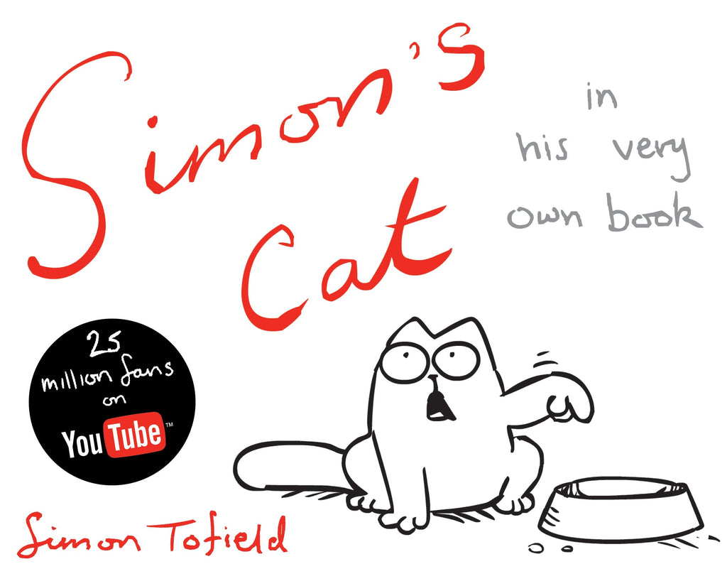 Simon's Cat in his very own book - Simon's Cat Shop