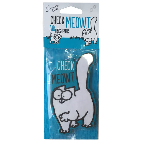 Simon's Cat Check Meowt Air Freshener