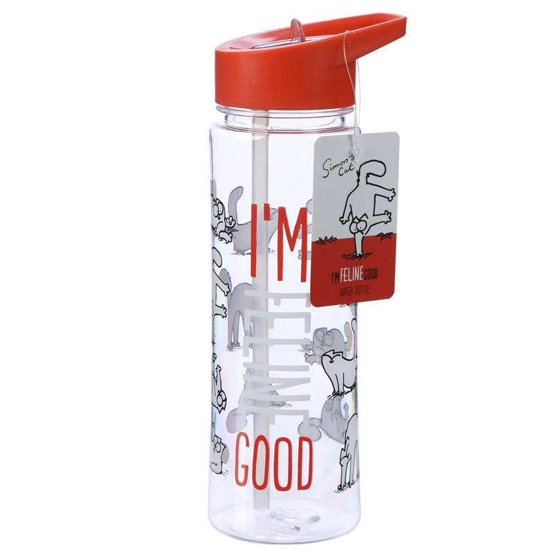 I'm Feline Good 500ml Water Bottle - Simon's Cat Shop