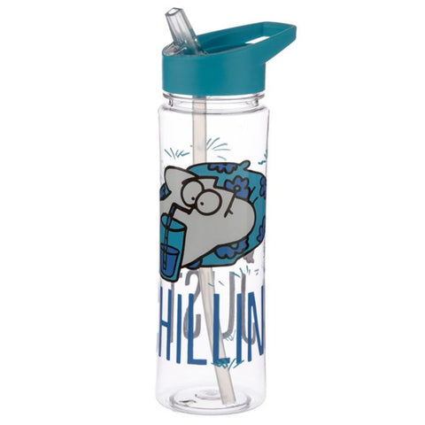Simon's Cat Chilling 550ml Water Bottle