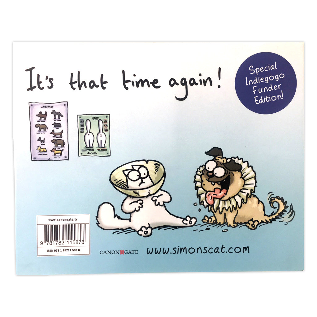 Simon's Cat, Off to the Vet & Other Cat-astrophes - Simon's Cat Shop