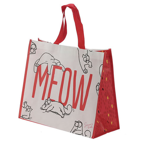 MEOW Shopper Tote Bag - Simon's Cat Shop