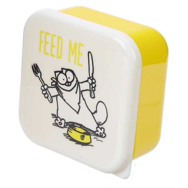 Simon's Cat set of 3 Snack Boxes - Simon's Cat Shop