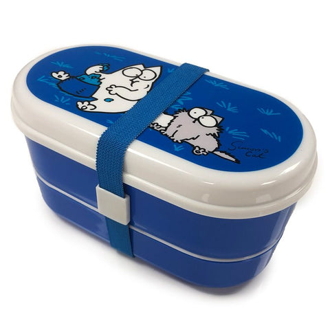 Simon's Cat set of 2 Bento Lunch Boxes