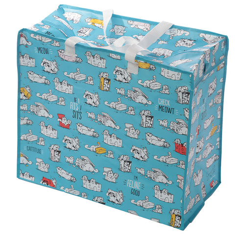 Simon's Cat XL Storage or Laundry Bag - Simon's Cat Shop