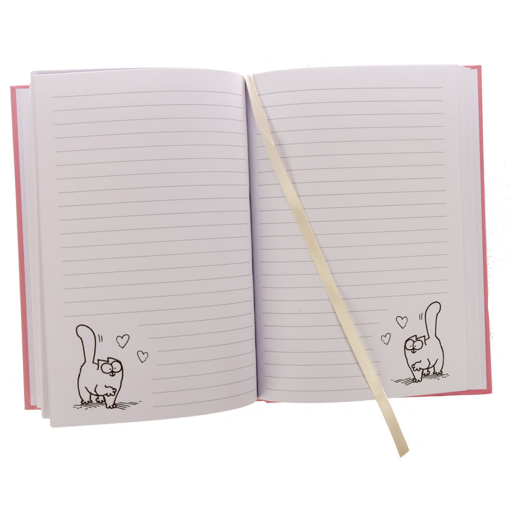 A5 Simon's Cat Hardback Notebook - You Had Me At Meow - Simon's Cat Shop