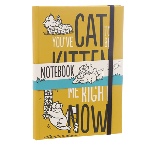 You've Cat To Be Kitten Me Hardback Notebook - Simon's Cat Shop