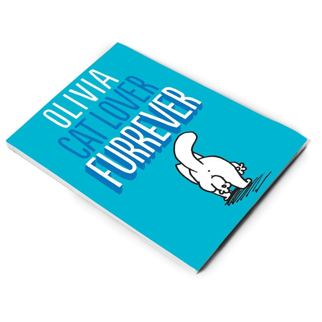 Personalised Cat Lover Furrever Notepad - Simon's Cat Shop