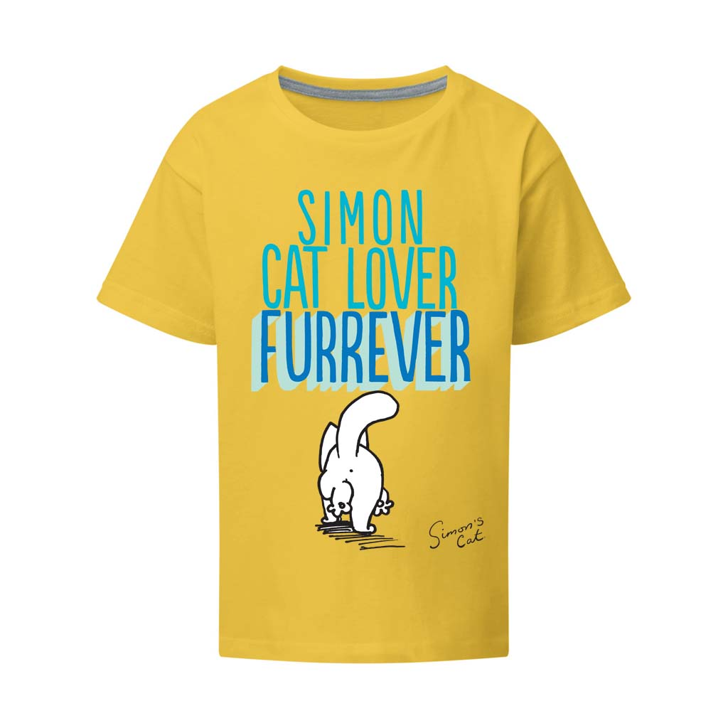 Personalised Cat Lover Furrever T-Shirt