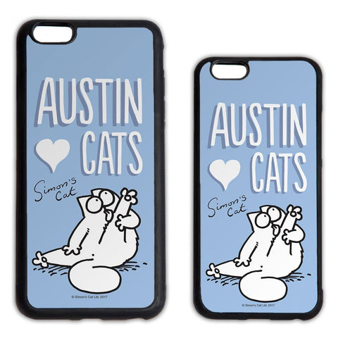 Personalised Preening Blue Phone Case - Simon's Cat Shop