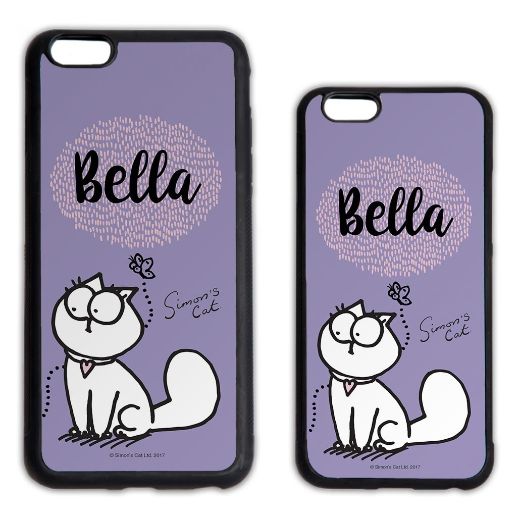 Personalised Butterfly Purple Phone Case - Simon's Cat Shop