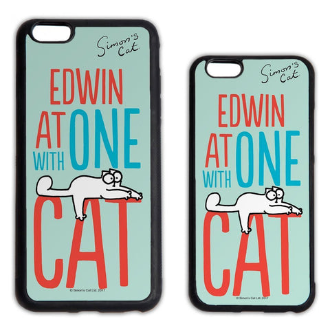 Personalised At one with Cat Phone Case - Simon's Cat Shop