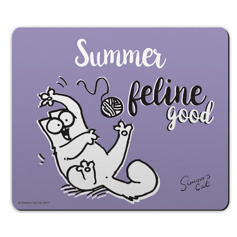 Personalised Feline Good Mouse Mat - Simon's Cat Shop