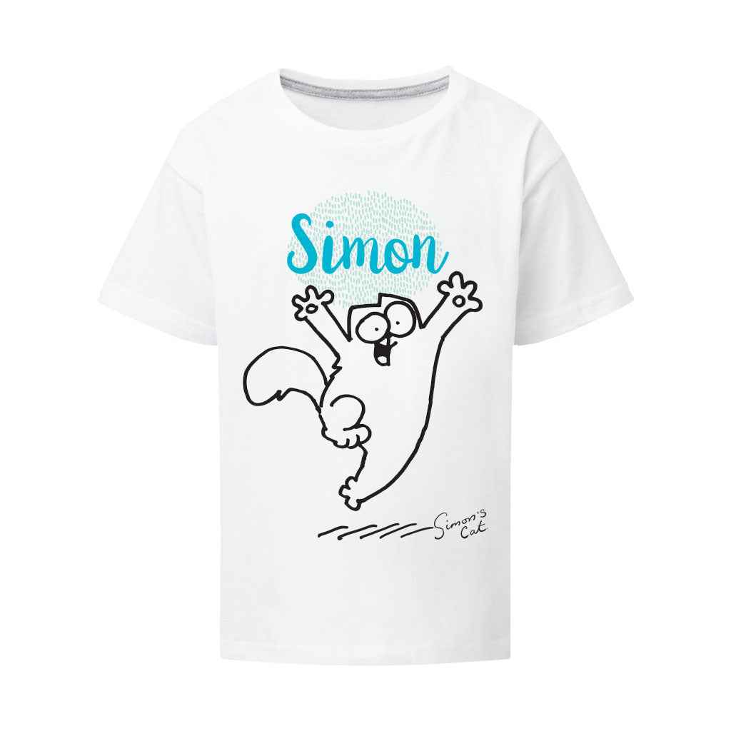 Personalised Happy Cat T-Shirt