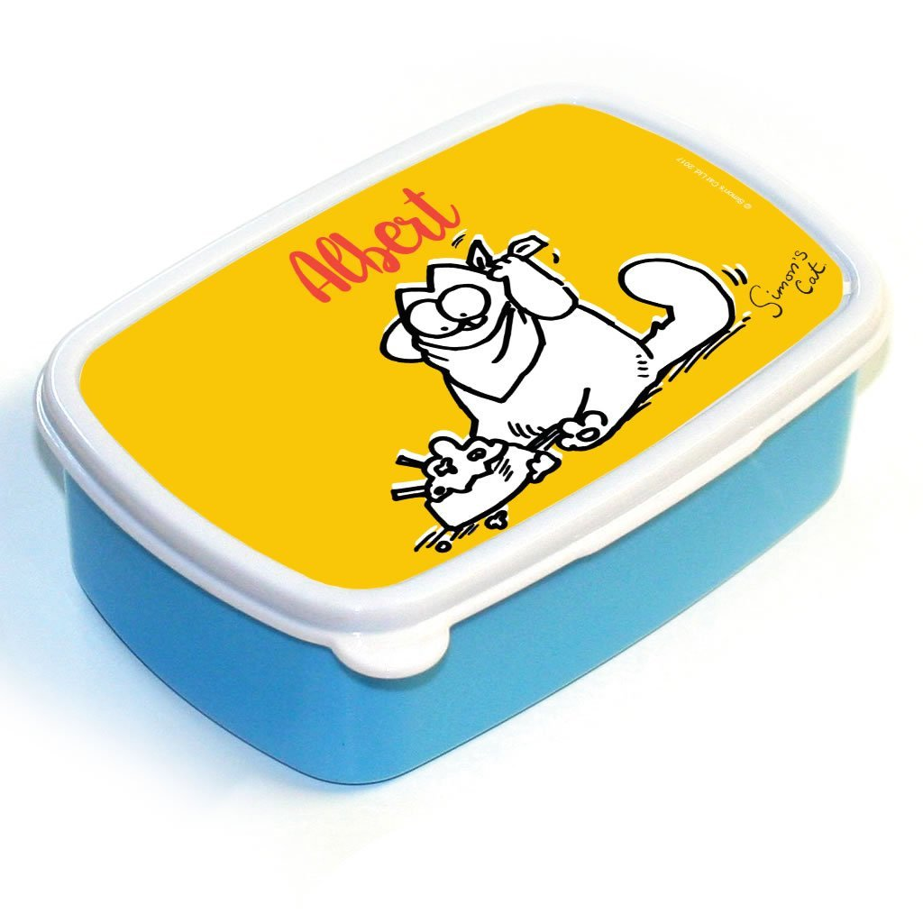 Personalised Lunch Time Lunch Box - Simon's Cat Shop