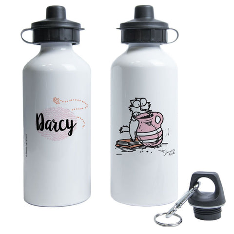 Personalised Drink Up Water Bottle - Simon's Cat Shop