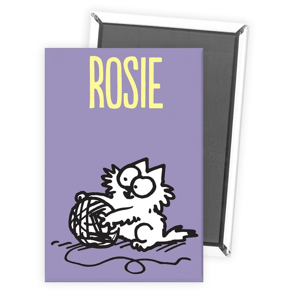 Personalised Wool Purple Magnet - Simon's Cat Shop