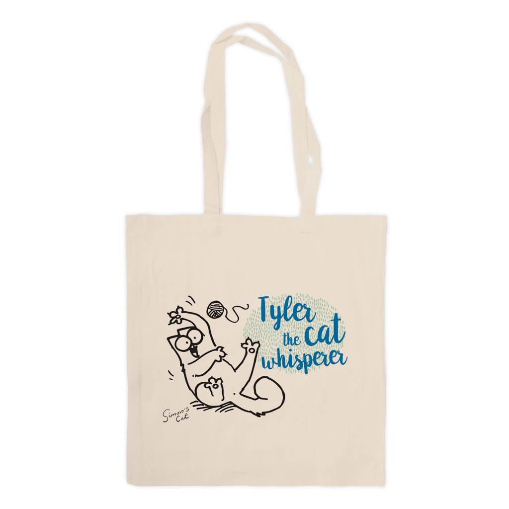 Personalised The Cat Whisperer Standard Tote - Simon's Cat Shop