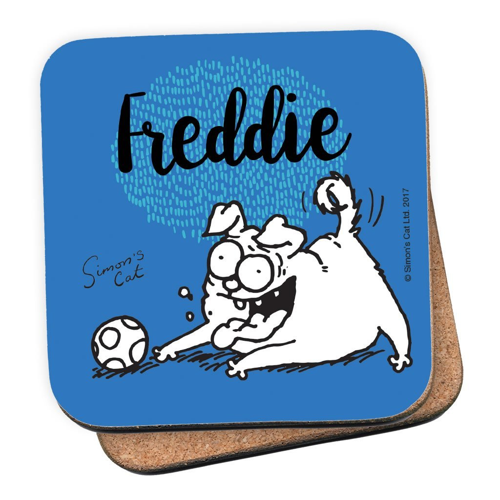 Personalised Pug Life Coaster - Simon's Cat Shop