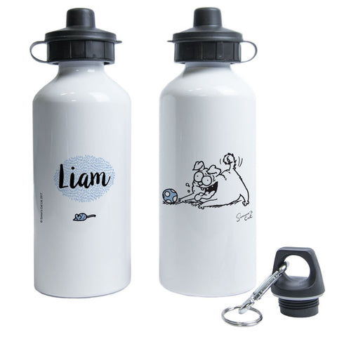 Personalised Pug Life Water Bottle - Simon's Cat Shop