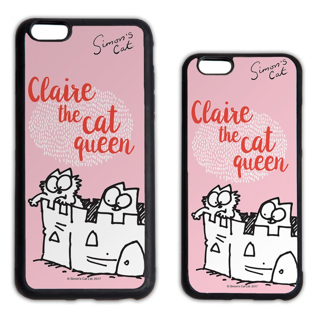 Personalised The Cat Queen Phone Case - Simon's Cat Shop