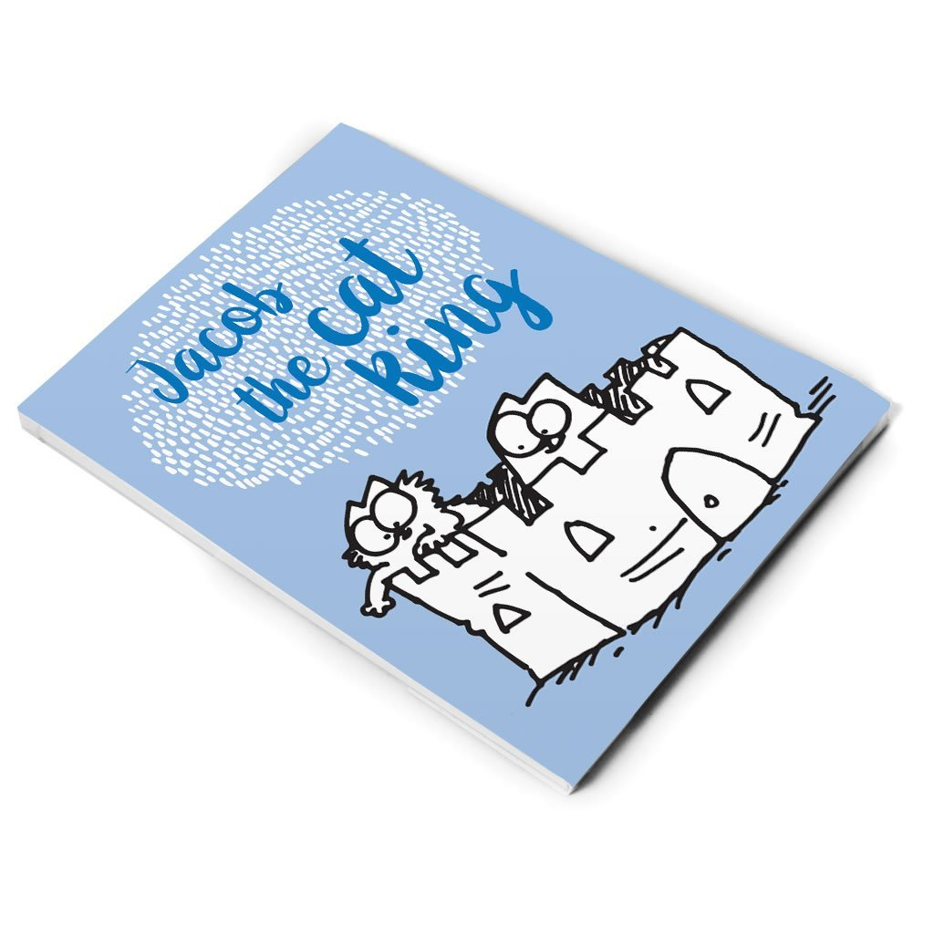 Personalised The Cat King Notepad - Simon's Cat Shop