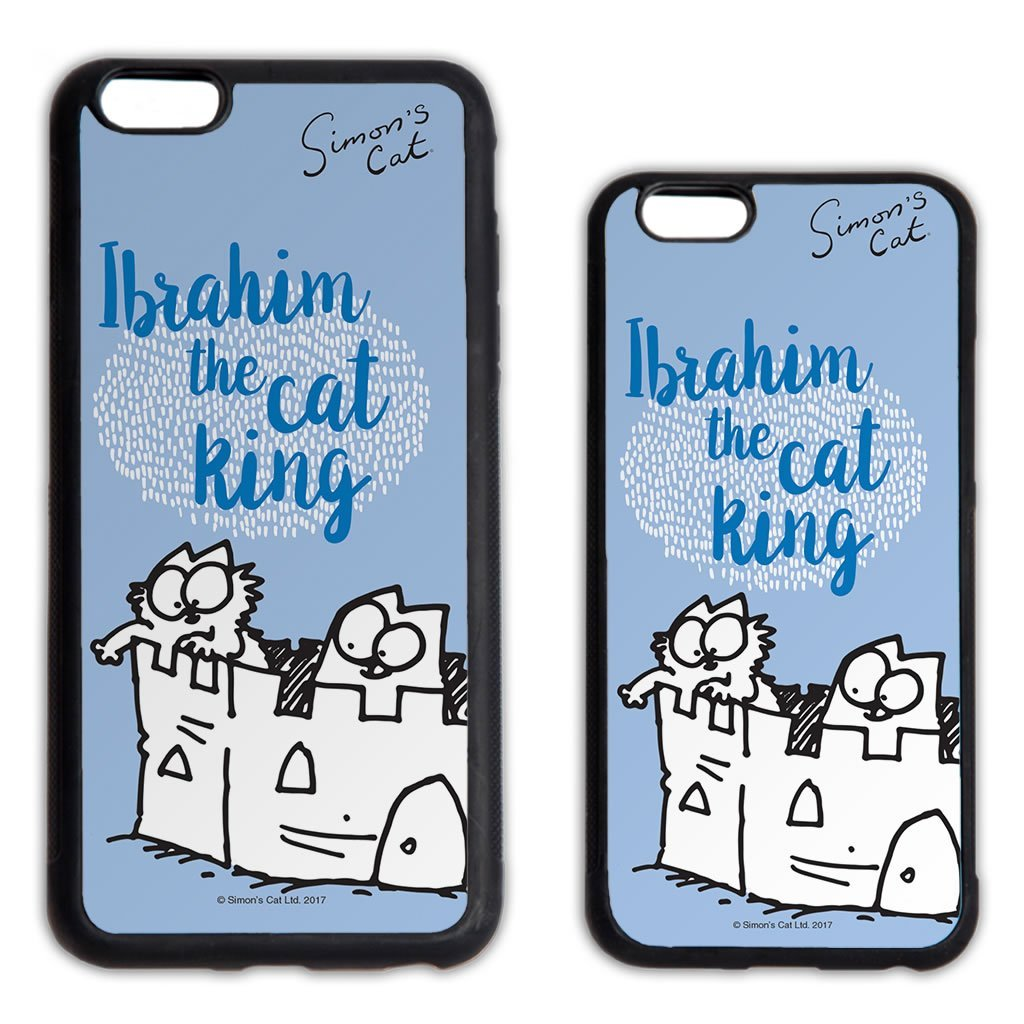 Personalised The Cat King Phone Case - Simon's Cat Shop