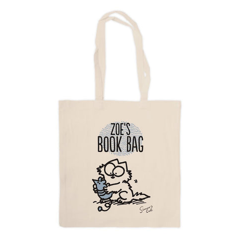 Personalised Book Bag Standard Tote - Simon's Cat Shop