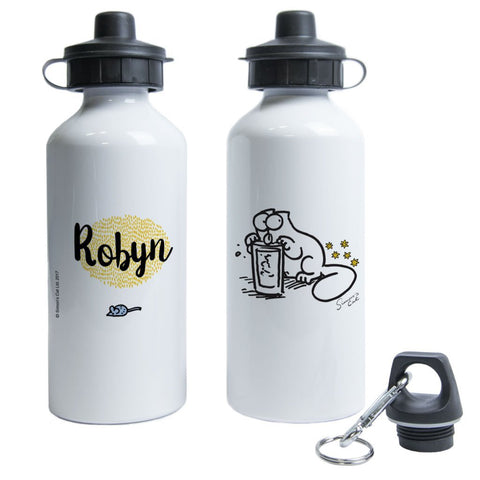 Personalised Thirst Quenching Water Bottle - Simon's Cat Shop