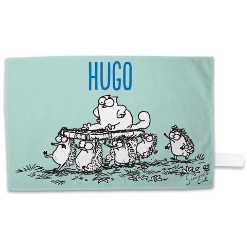 Personalised Hedgehog Tea Towel - Simon's Cat Shop