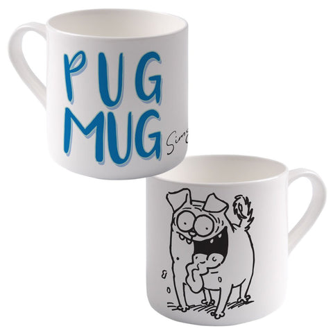 Pug Mug Big Bone China Mug - Simon's Cat Shop