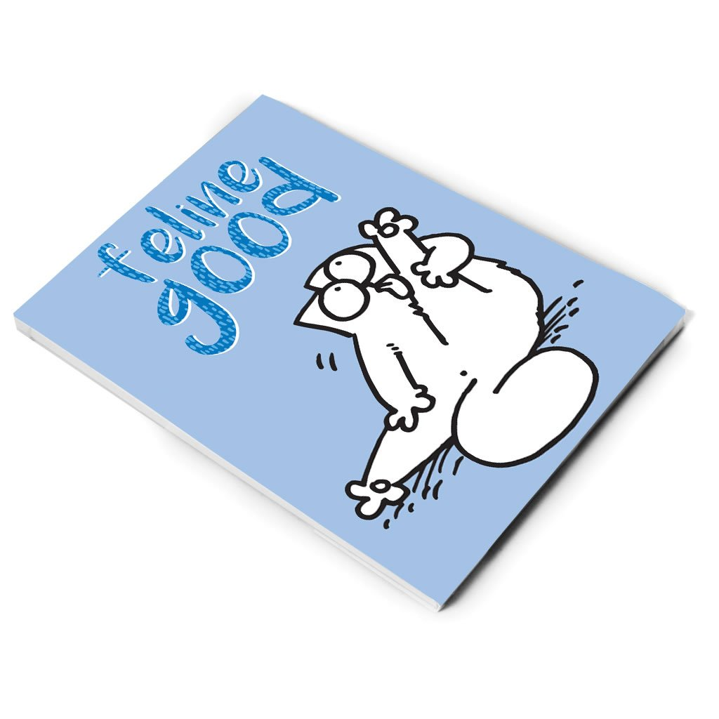 Feline Good A5 Notepad - Simon's Cat Shop