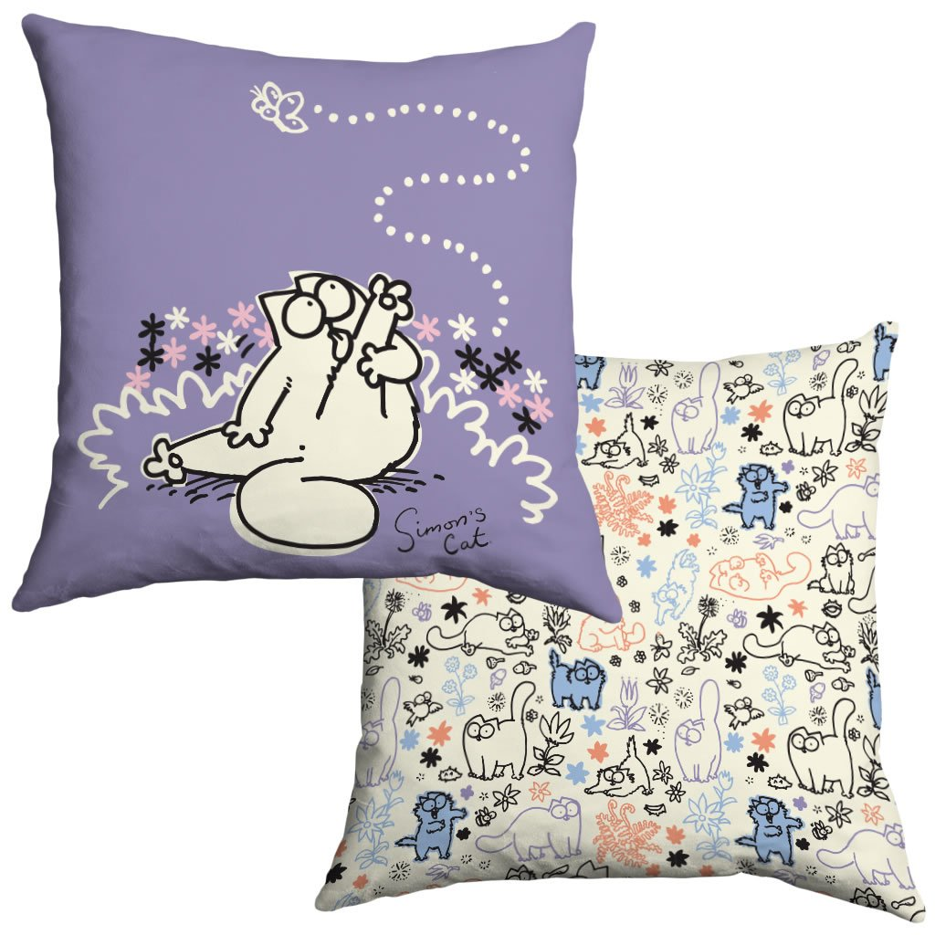 Simon's Cat Cushion - Simon's Cat Shop