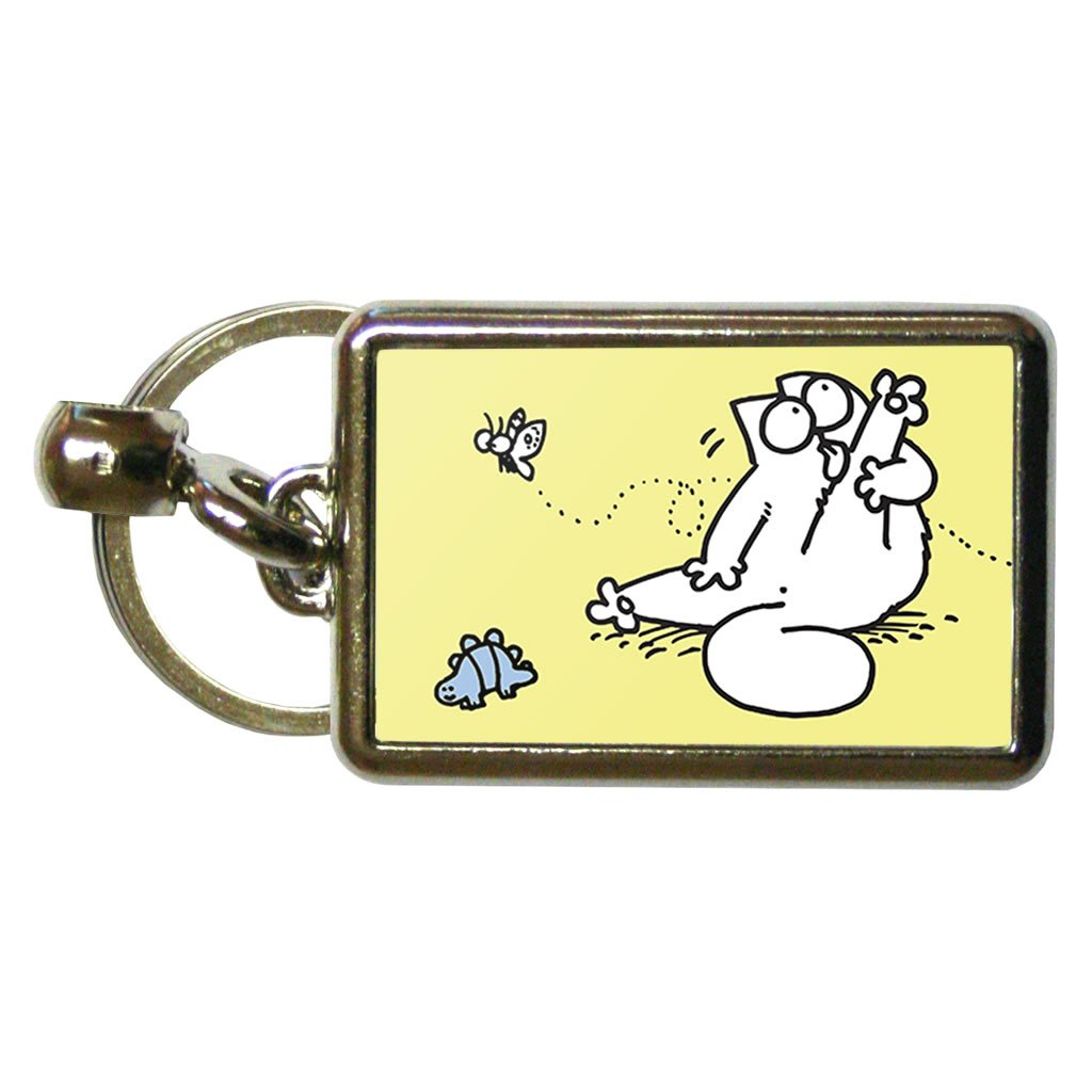 Simon's Cat Keyring - Simon's Cat Shop