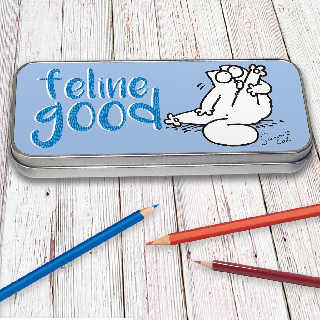 Feline Good Pencil Tin - Simon's Cat Shop