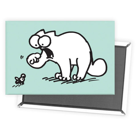 Simon's Cat Blue Magnet - Simon's Cat Shop