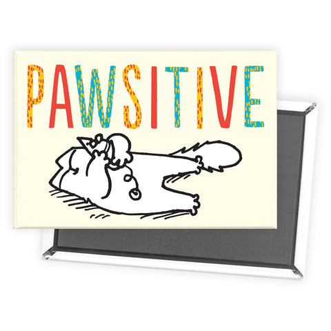 Pawsitive Cat Magnet - Simon's Cat Shop