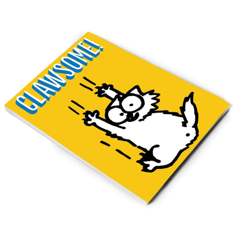 Clawsome A5 Notepad - Simon's Cat Shop