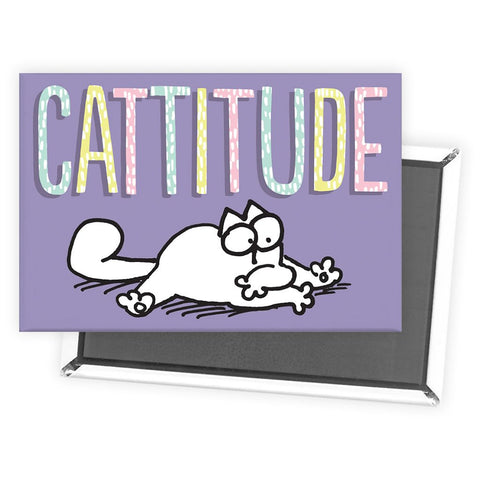 Cattitude Magnet - Simon's Cat Shop