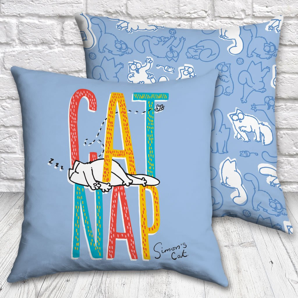 Cat Nap Cushion - Simon's Cat Shop