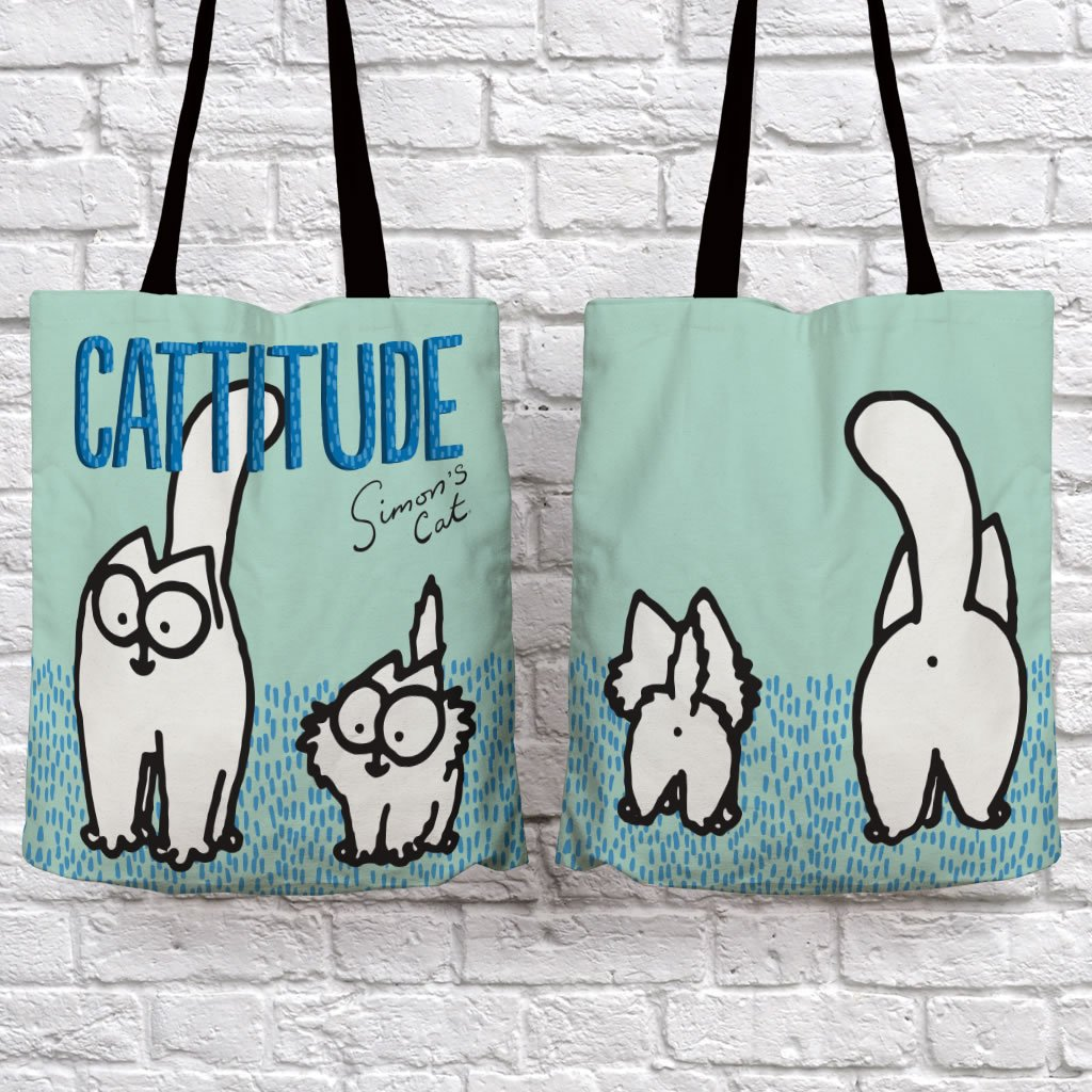 Cattitude Tote Bag - Simon's Cat Shop
