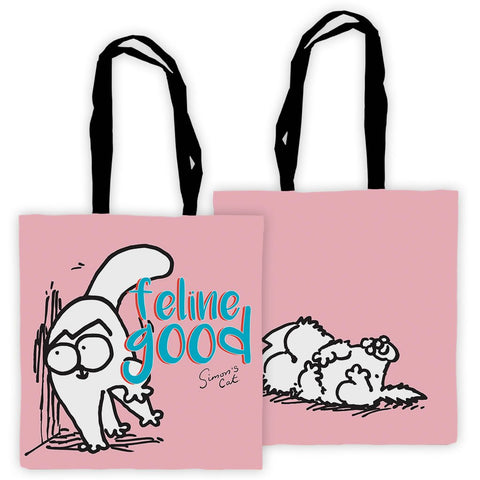 Feline Good Tote Bag - Simon's Cat Shop