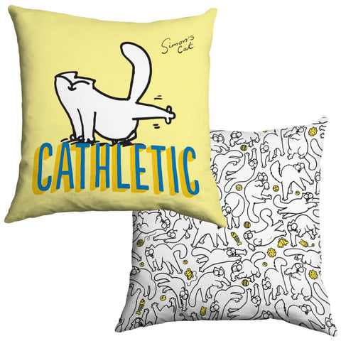 Cathletic Cushion - Simon's Cat Shop