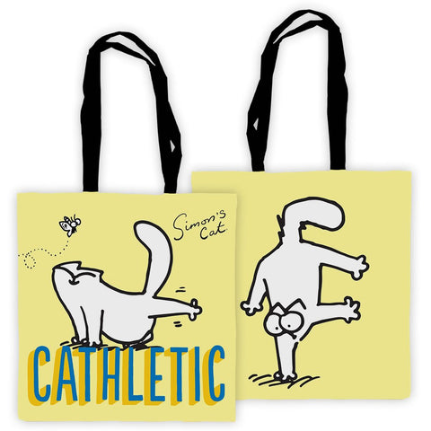 Cathletic Tote Bag - Simon's Cat Shop