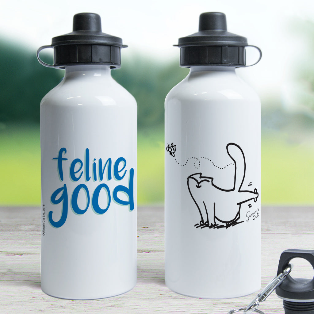 Feline Good Waterbottle - Simon's Cat Shop