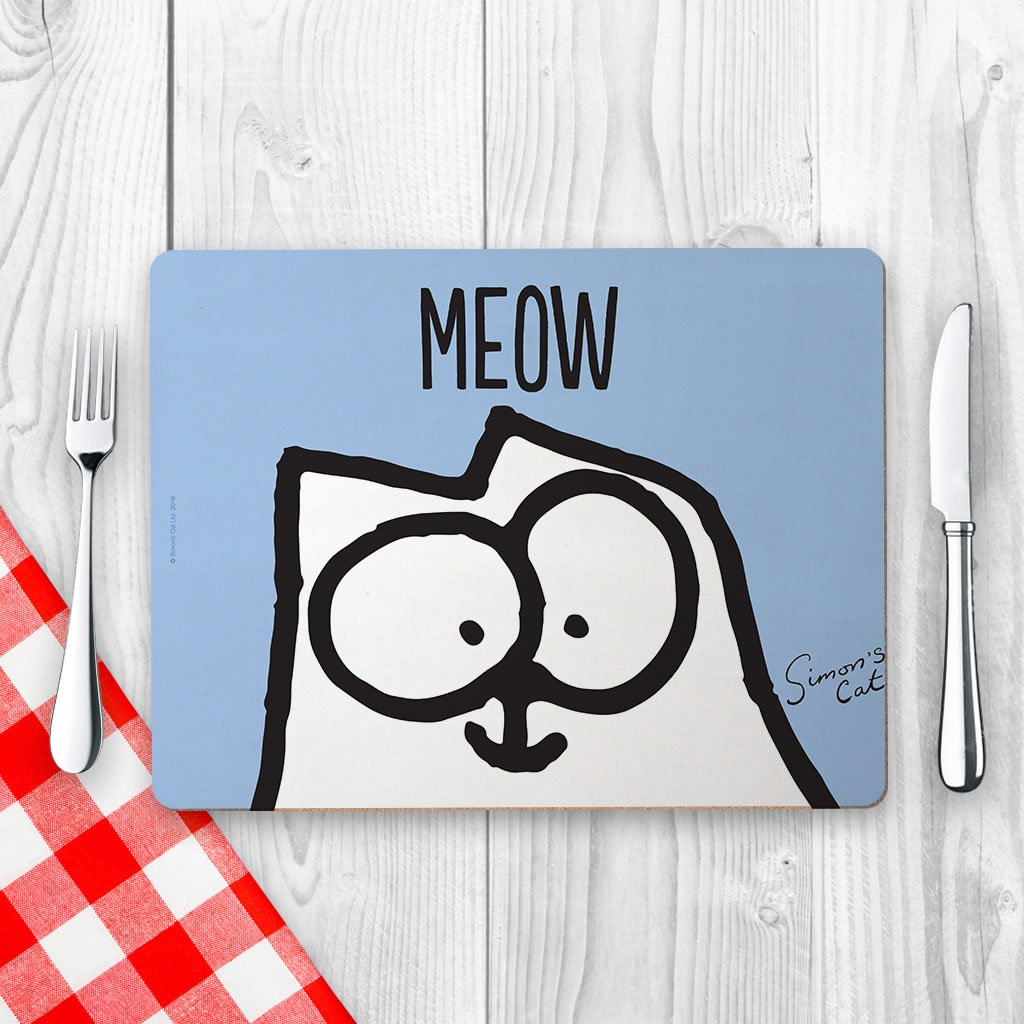 Meow Placemat - Simon's Cat Shop