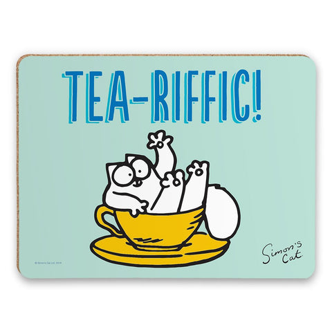 Tea-Riffic Placemat - Simon's Cat Shop