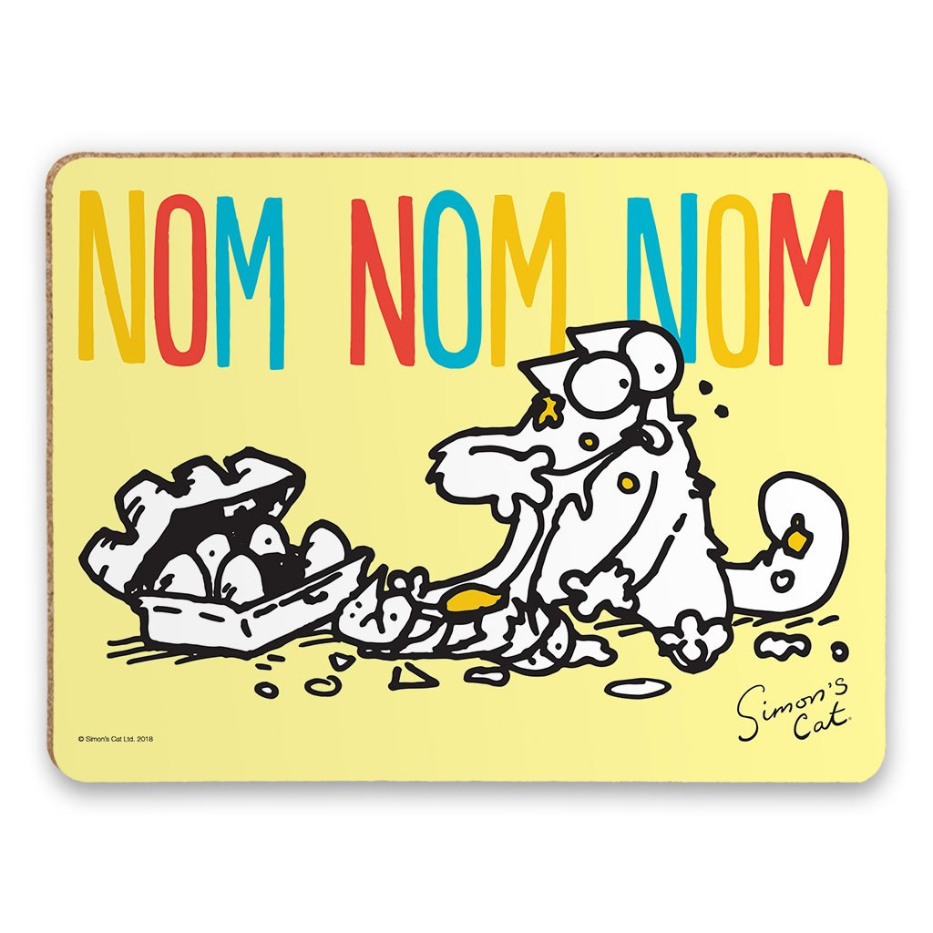 Nom Nom Nom Placemat - Simon's Cat Shop