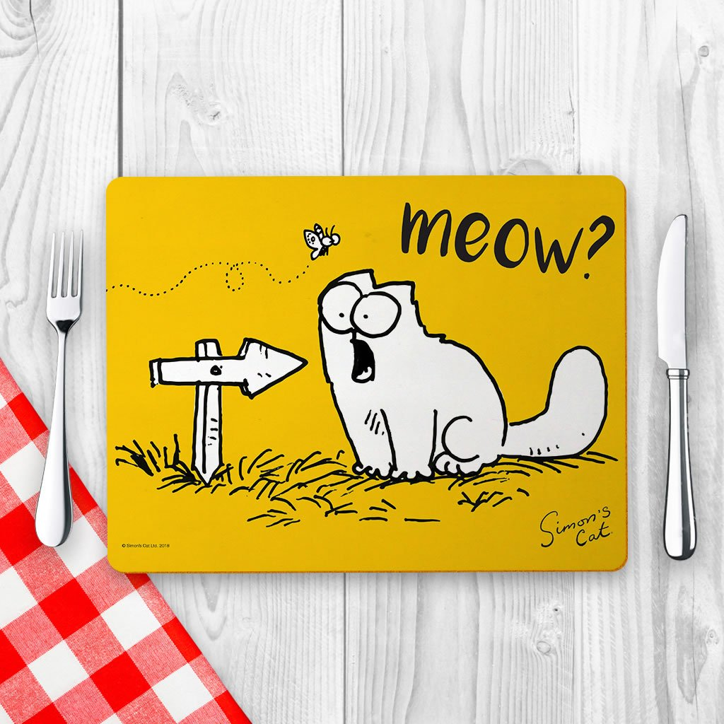 Meow? Placemat - Simon's Cat Shop