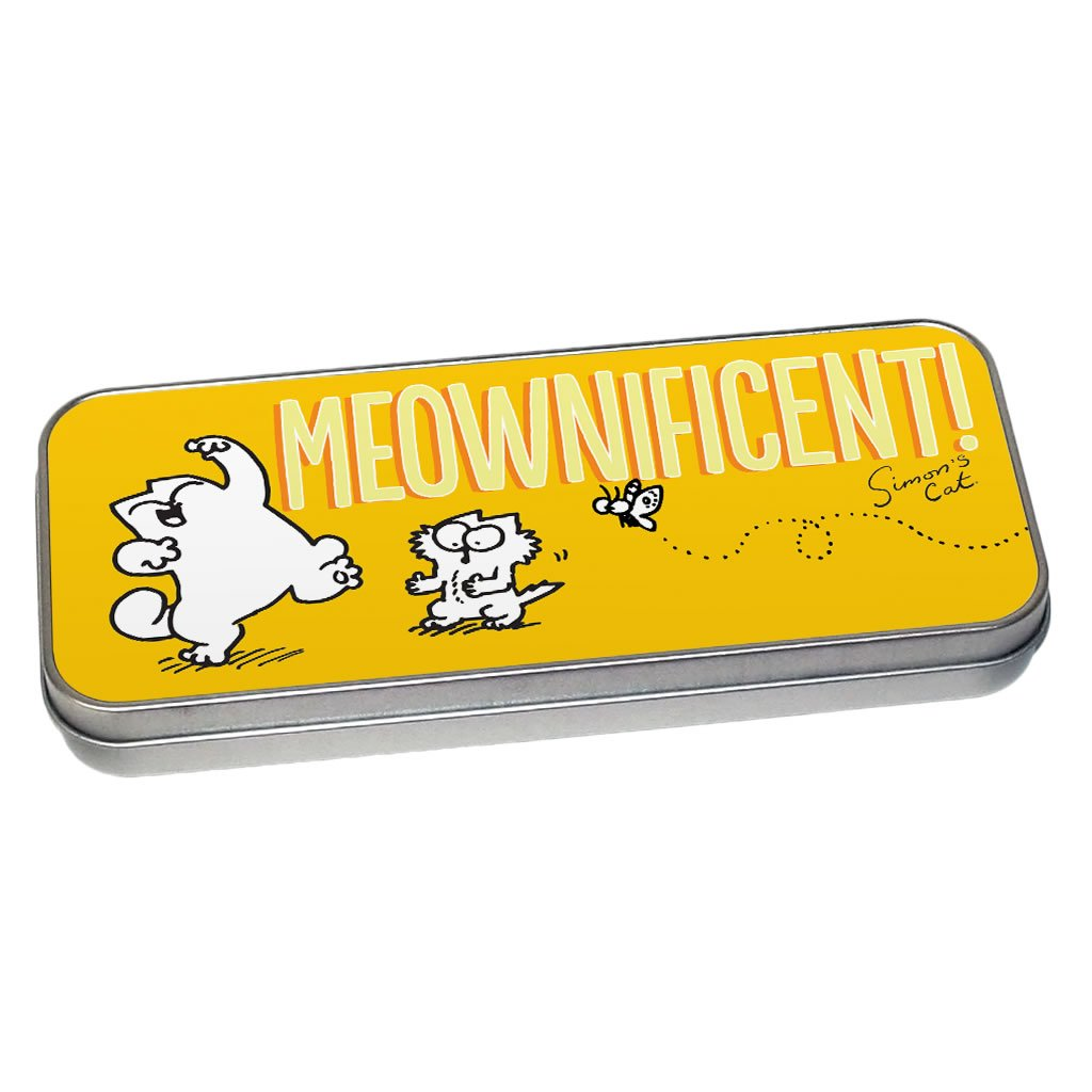 Meownificent Pencil Tin - Simon's Cat Shop